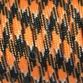 Paracord 550 Orange-Black