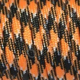 Paracord 550 Orange-Black