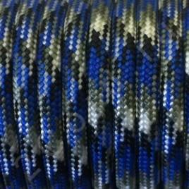 Paracord 550 Blue Camo