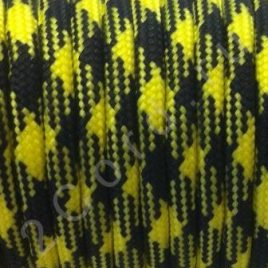 Paracord 550 Black-yellow