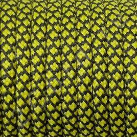 Паракорд 550 Черно-желтый, паутинка
